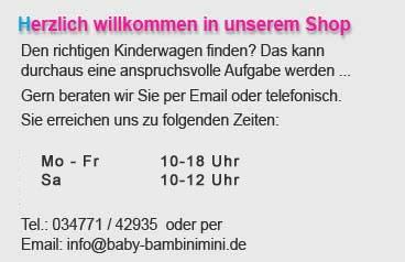 Start BambiniMini / Erreichbarkeit