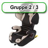 Autositz Gruppe 15-36 kg