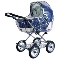 Regenverdeck EXTRA GROSS Regenschutz für große Kinderwagen 10020
