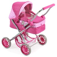 Bayer Chic 2000 Puppenwagen Smarty dots pink