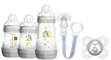 MAM Anti-Colic Starterset Uni Flaschenset Flasche Schnuller