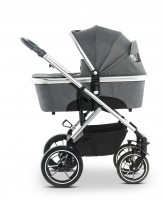 Moon Kinderwagen NUOVA City anthrazit/structure