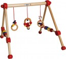 BIECO Baby Gym Spieltrapez Activity-Center aus Holz