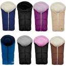 Car Seat Winterfußsack Fleece für Babyschale oder Tragetasche