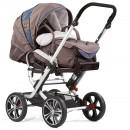 Gesslein F10 Air+ Kinderwagen mit Baby-Tragetasche
