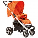 Gesslein S4 Air+ Sport Buggy orange Gestell weiss