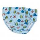 Jungen Badewindel 460250 Fische hellblau mit UV-Schutz