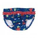 Mädchen Badewindel 460280 Sterne mit UV-Schutz