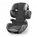 Kiddy Cruiserfix 3 Retro Charcoal Isofix Kindersitz Gruppe 2/3 | 15 kg-36 kg