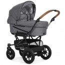 Emmaljunga Kinderwagen Edge Duo mit Gestell Duo S Outdoor Air 2020