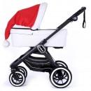 Mega Weihnachtsmütze für Emmaljunga Kinderwagen
