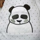 Jacky Baby Schlafsack Panda wattiert 350020 Neu Babyschlafsack ohne Ärmel