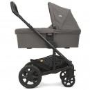 Joie Chrome DLX Foggy Gray Kombi Kinderwagen mit Babywanne