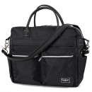 Emmaljunga Wickeltasche Travel Lounge Black Eco