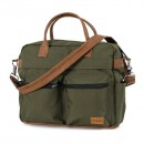 Emmaljunga Wickeltasche Travel Outdoor Olive Eco