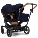 Emmaljunga NXT TWIN 2in1 Zwillingskinderwagen Outdoor Navy