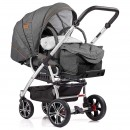 Gesslein F4 Air+ Kinderwagen mit C1-Lift Softtragetasche 2021
