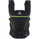 Babytrage manduca® First BlackLine ScreaminGreen